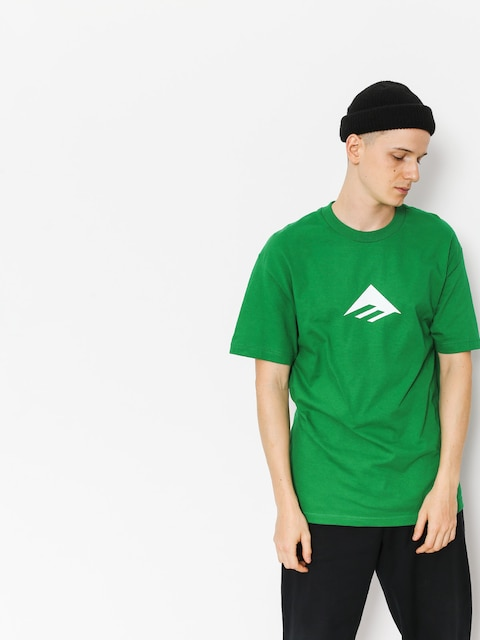 Emerica T-shirt Triangle (kelly green)