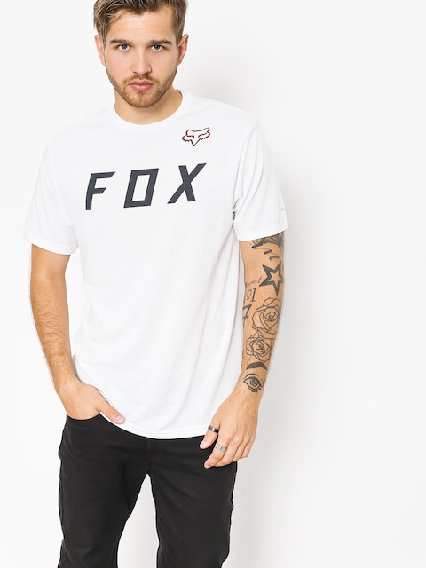 Fox T-shirt Grizzled (opt wht)