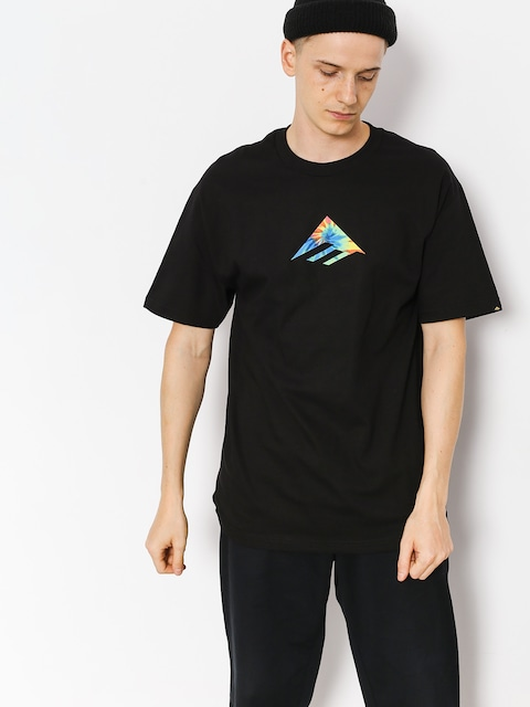 Emerica T-shirt Triangle (black/print)