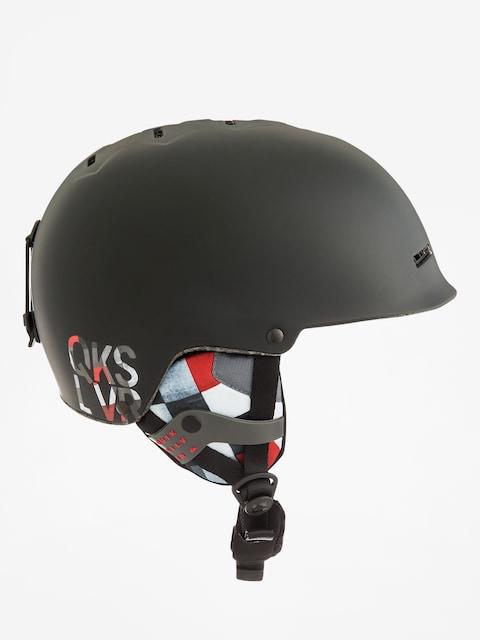 Quiksilver Helmet Fusion (check atomic white)