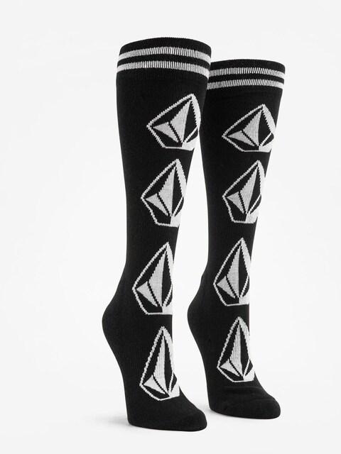 Volcom Socks Sherwood Wmn (blk)