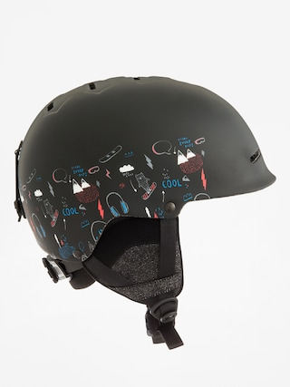 Quiksilver Helmet Empire (maoam tatt black)