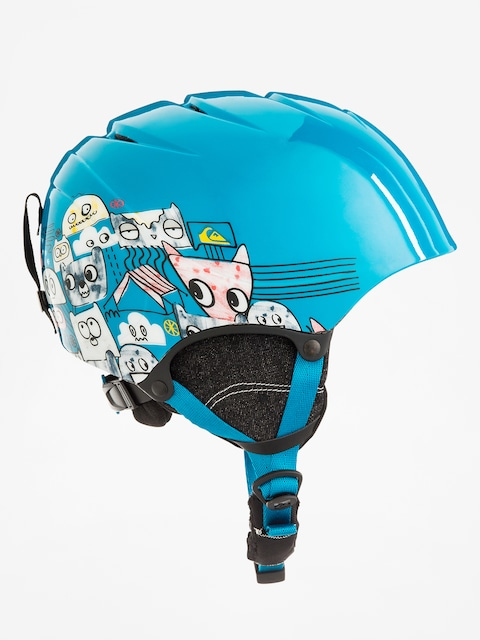 Quiksilver Helm The Game (animal part blue)