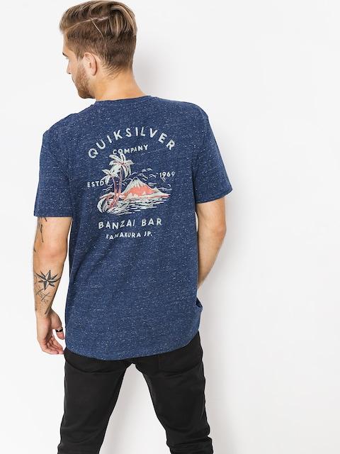 Quiksilver T-shirt Banzaibar (medieval blue heathe)