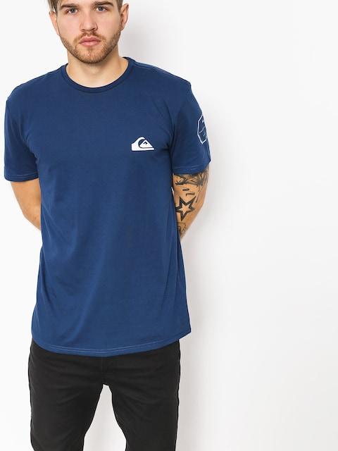 Quiksilver T-shirt Solid Left (medieval blue)