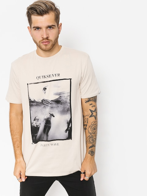 Quiksilver T-shirt Wave Party (oatmeal)