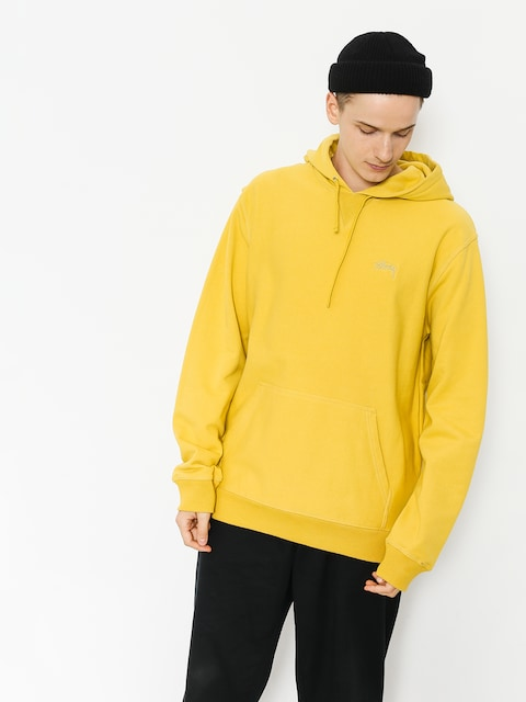 Stussy Hoodie Stock Terry HD (lemon)