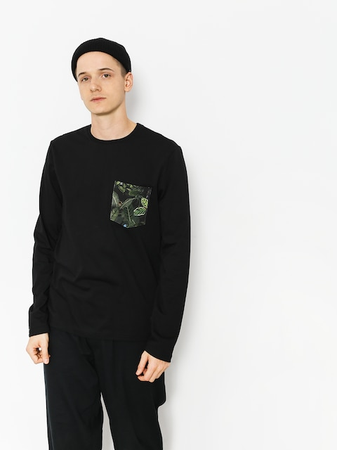 Malita Longsleeve Jungle Pocket (black)