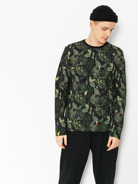 Malita Longsleeve Jungle (black/green)