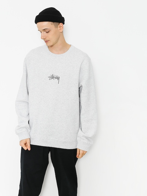 Stussy Sweatshirt Stock App (grey heather)