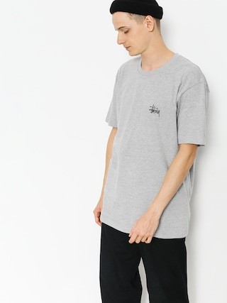 Stussy T-shirt Basic (grey heather)
