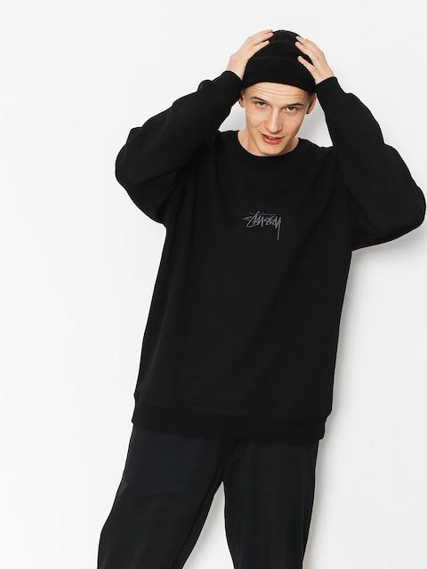 Stussy Sweatshirt Stock App (black)