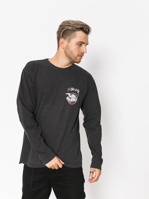 Stussy Longsleeve Skateman Pig Dyed (black)