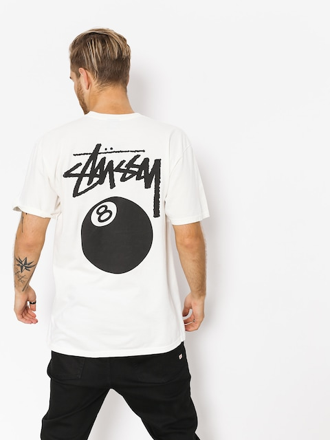 Stussy T-shirt 8 Ball Pig Dyed (natural)