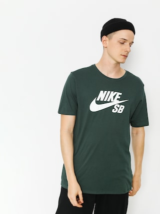 Nike SB T-shirt Sb Logo (midnight green/white)
