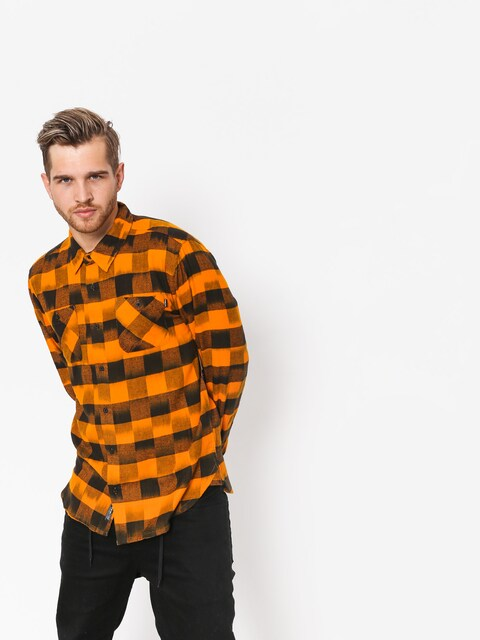 Primitive Shirt Buffalo LS (sunset/black)