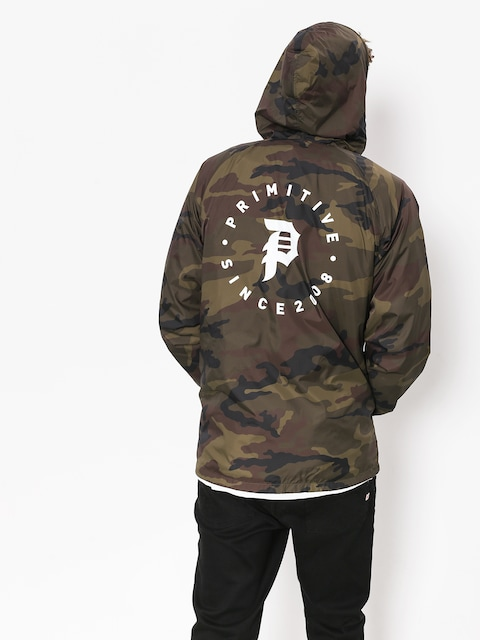 Primitive Jacket Dirty P Windbreaker (camo)