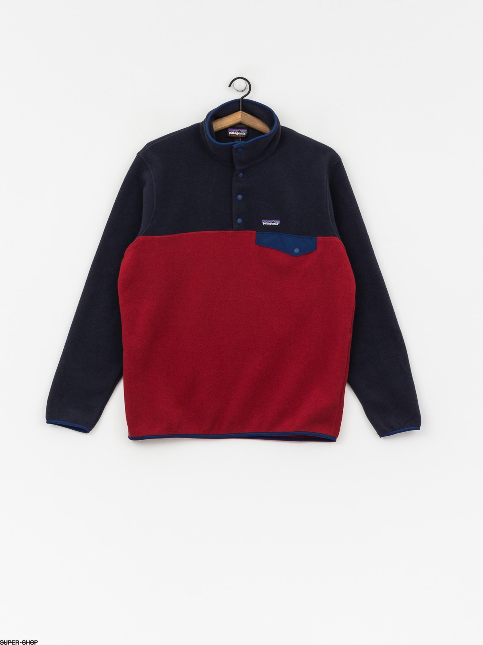 buy online 2dd35 a1cc2 Herren Patagonia Fleecejacke Synchilla Snap-T (classic red)