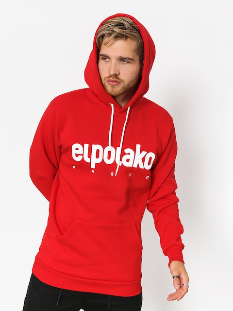 El Polako Hoodie Classic HD (red)