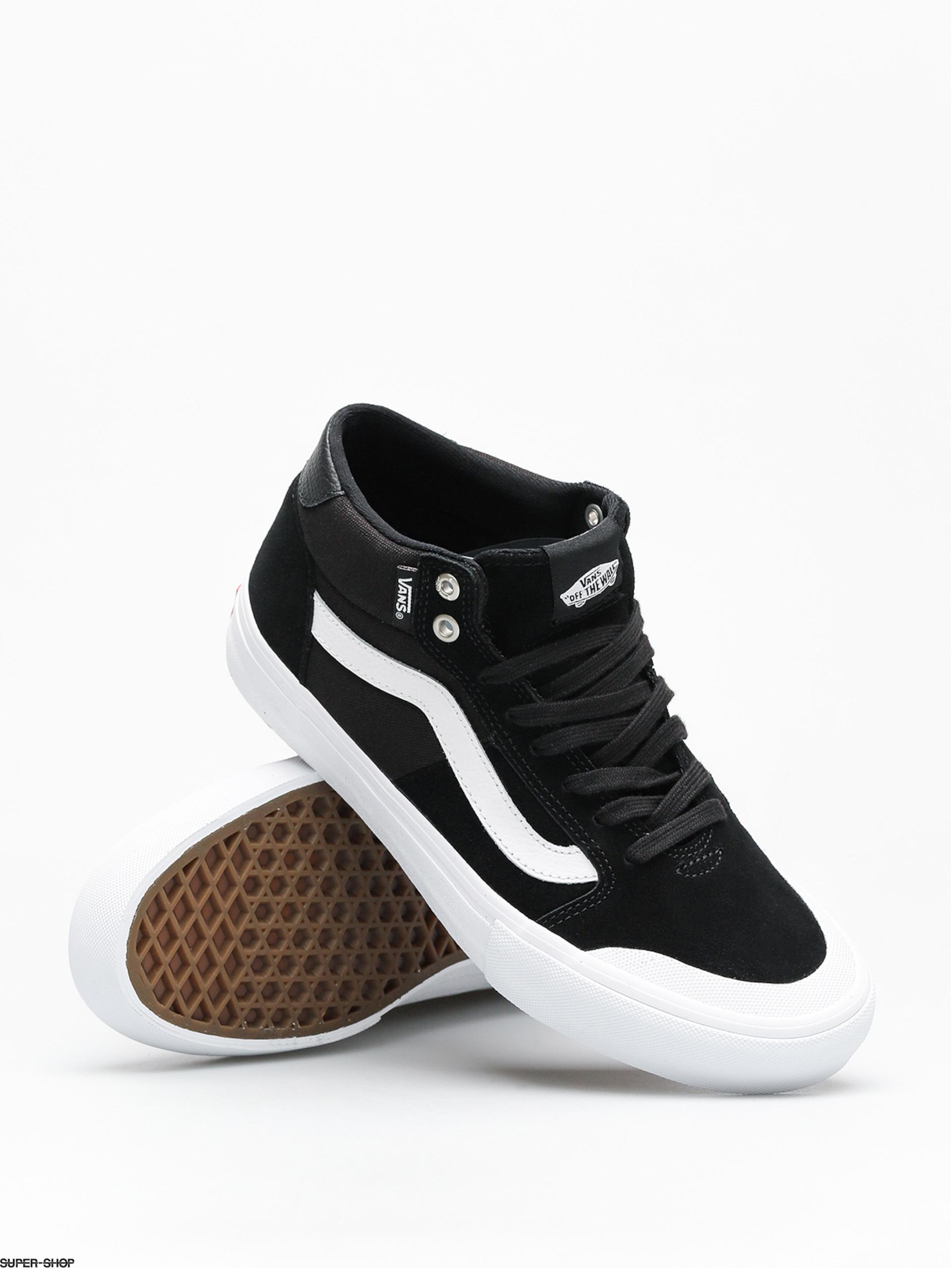 Vans Shoes Style 112 Mid Pro (black/white)