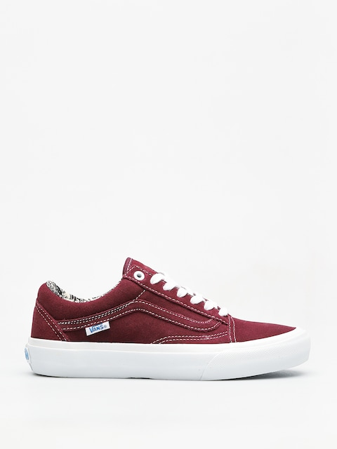 Vans Shoes Old Skool Pro (ray barbee og burgundy)