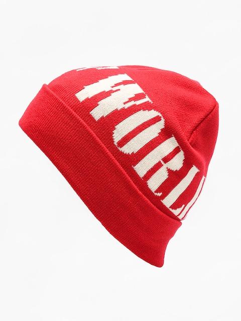 HUF Beanie Serif (scarlet)