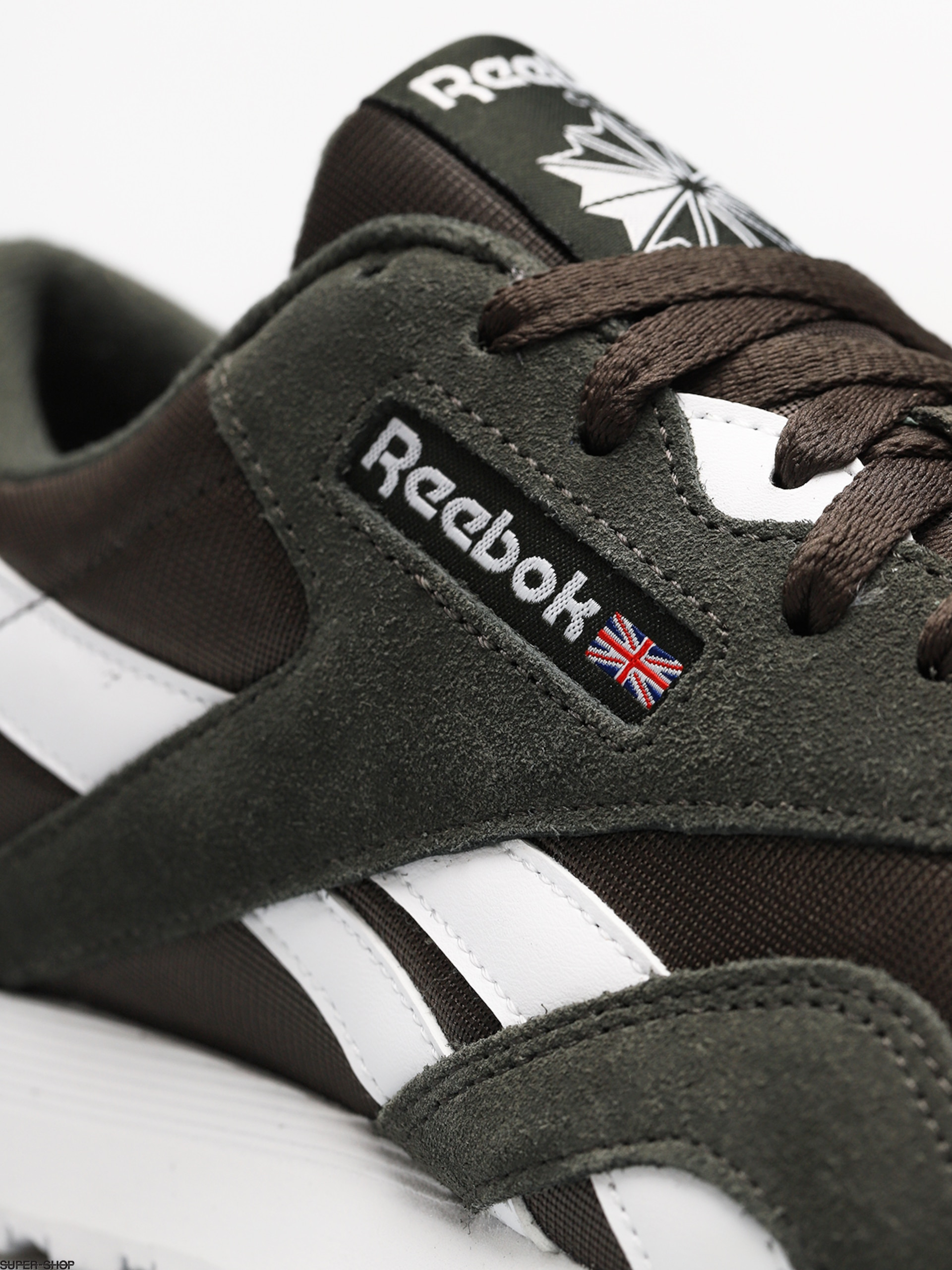 Reebok Shoes Cl Nylon M (sf dark cypresswhite)