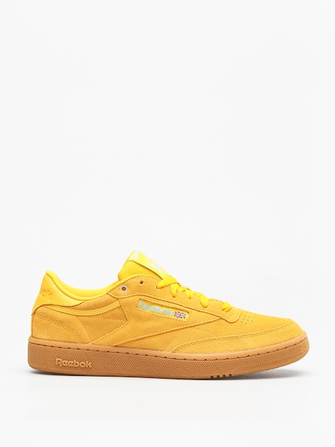 Reebok Shoes Club C 85 Mu (mc banana/blue/gum)