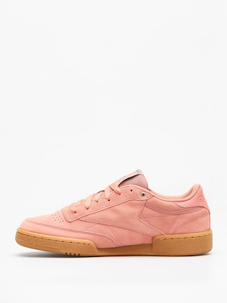 Reebok Shoes Club C 85 Mu (mc dirty apricot/teal/gum)