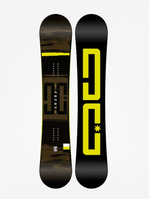 DC Snowboard Focus (black/lime)