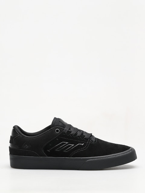 Emerica Shoes The Reynolds Low Vulc (black raw)
