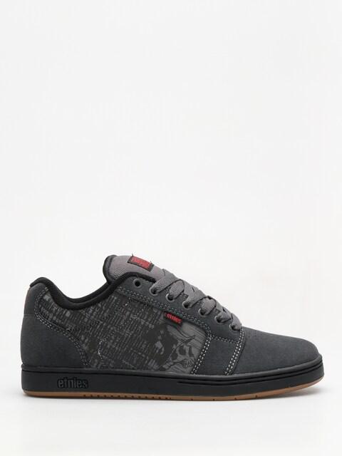 Etnies Schuhe Metal Mulisha Barge Xl (dark grey/black/red)