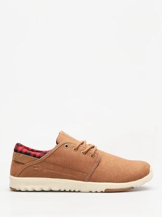 Etnies Shoes Scout (brown/tan/brown)