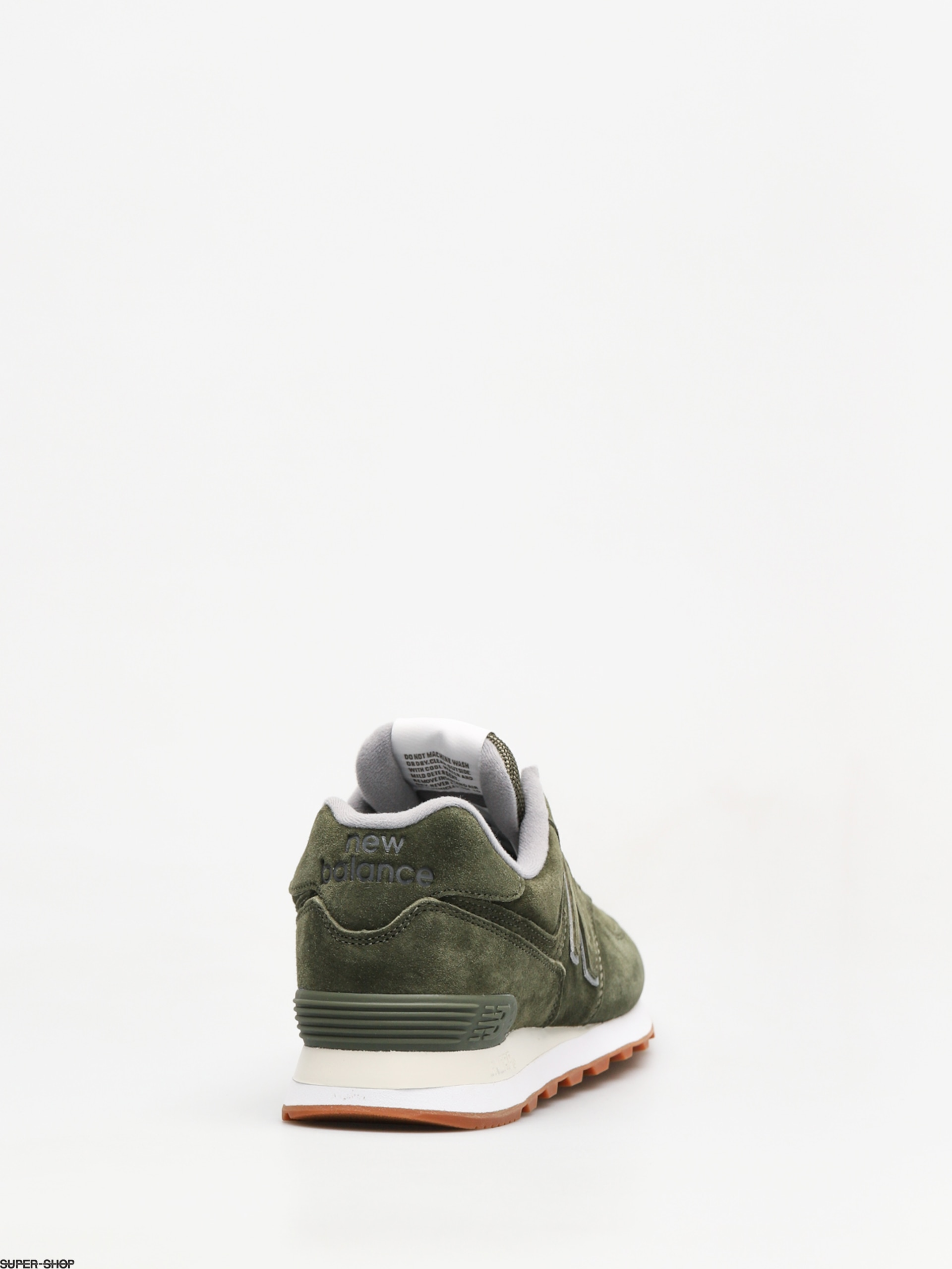 New Balance Shoes 574 (dark covert green)