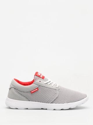 Supra Schuhe Hammer Run (lt grey/risk red white)