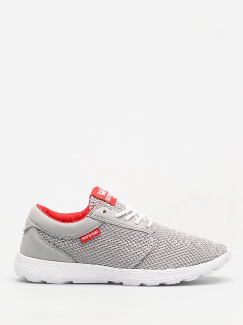 Supra Schuhe Hammer Run (lt grey/risk red white)