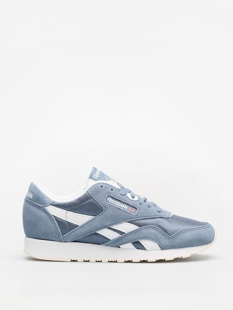 Reebok Schuhe Cl Nylon Wmn (mutedberries blue slate/white/chalk)