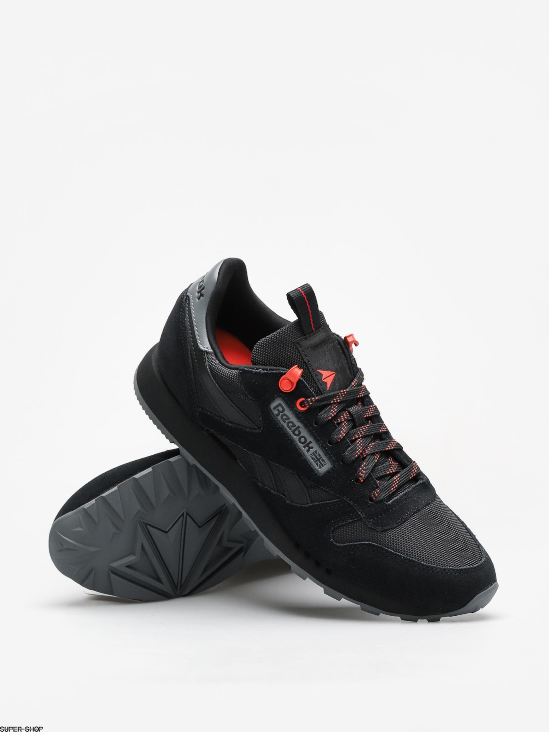 ec996fe29c5b Reebok Shoes Cl Leather Explore (black/alloy/carotene)