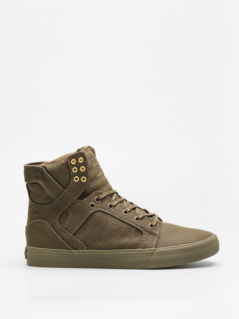 Supra Schuhe Skytop (olive)
