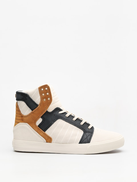 Supra Shoes Skytop (bone/black bone)