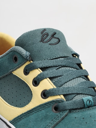 Es Shoes Square Three (green/gold)