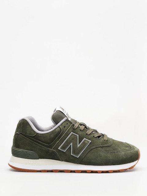New Balance Shoes 574 (dark covert green)