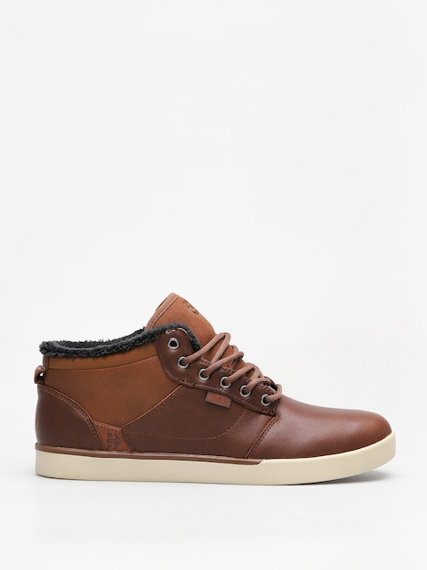 Etnies Shoes Jefferson Mid (brown/tan)