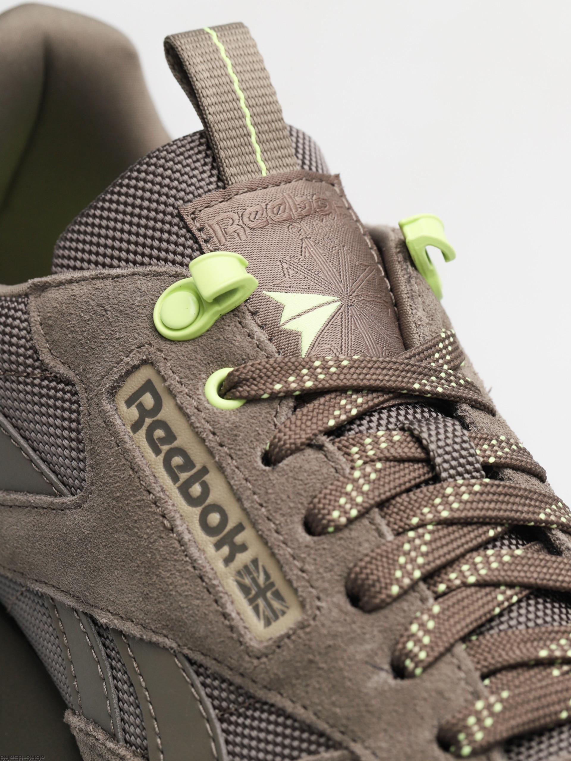 18de7cbcff34 Reebok Shoes Cl Leather Explore (terrain grey super neutral lemon zest)