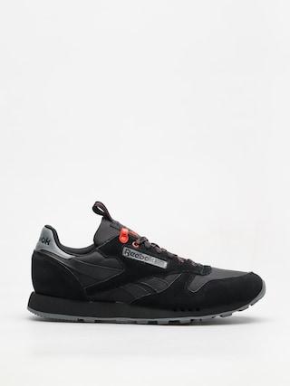 Reebok Shoes Cl Leather Explore (black/alloy/carotene)