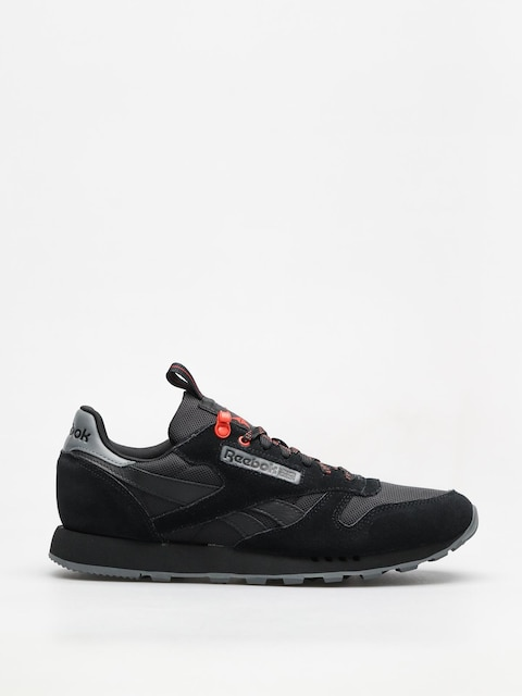 Reebok Shoes Cl Leather Explore (black/alloy/carotene)