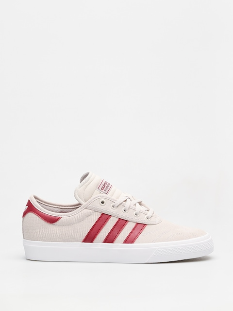 adidas Shoes Adi Ease Premiere (crystal white/collegiate burgundy/ftwr white)