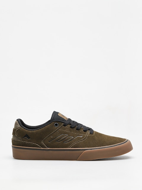 Emerica Shoes The Reynolds Low Vulc (olive/black/gum)