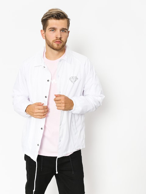 Diamond Supply Co. Jacket Brilliant Coach (white)