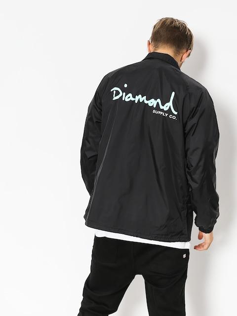 Diamond Supply Co. Jacke Og Script Coach (black)